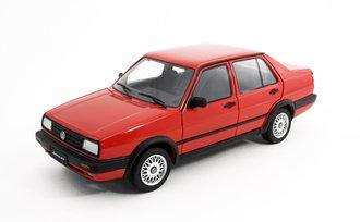 1:18 Volkswagen Jetta GT (Red) (Hubcap Style B)