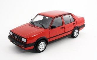 1:18 Volkswagen Jetta GT (Red) (Hubcap Style C)