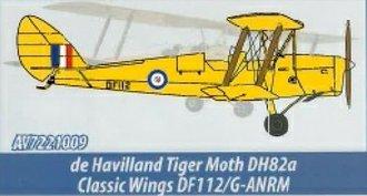 de Havilland DH.82A Tiger Moth - Classic Wings DF112/G-ANRM