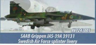 Saab JAS 39A Gripen - No. 2 Squadron, F-7 Skaraborg Air Force Wing, Swedish Air Force, 2012