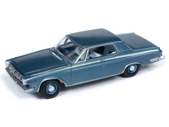 1:64 1963 Dodge Polara 500 Max Wedge (DD-1 Medium Blue)