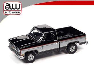 1981 Chevrolet Silverado 10 (Gloss Black w/Silver on Middle Sides)