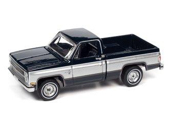 1982 Chevrolet Silverado 10 (Midnight Blue Body w/Silver Sides)
