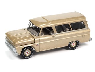 1966 Chevrolet Suburban (525 Saddle Poly)