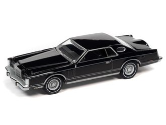 1:64 1977 Lincoln Continental Coupe Mark V (Gloss Black)