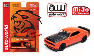 1:64 2019 Dodge Challenger SRT Hellcat (Orange)