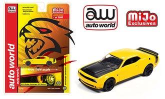 1:64 2019 Dodge Challenger SRT Hellcat (Yellow)