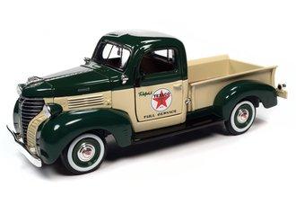 1:24 Texaco 1941 Plymouth Pickup Tk #38