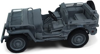 1:18 1941 Jeep Willys (Blue-Grey)