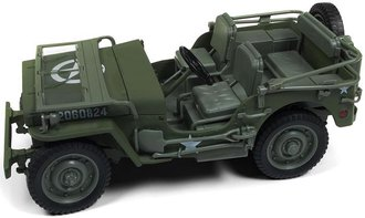 1:18 1941 Jeep Willys (Olive-Drab)