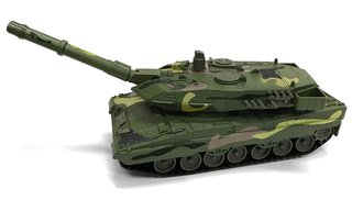 1:40 Military Tank (Woodland Camo)