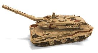 1:40 Military Tank (Desert Camo)