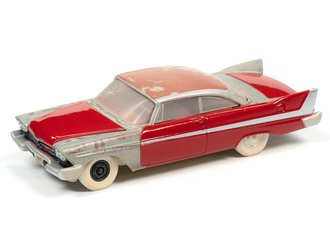 1:64 Christine® 1958 Plymouth (Partially Restored) (Red - Dirty)