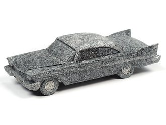 1:64 Christine® 1958 Plymouth (After Fire) (Black - Charred)