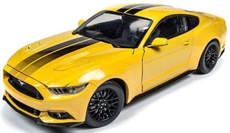 1:18 2016 Ford Mustang GT (Triple Yellow)