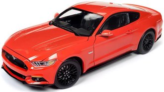 1:18 2016 Ford Mustang Coupe (Competition Orange)