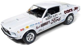 "1:18 1968 Ford Mustang 2+2 Hubert Platt ""Class of 68"" ""50th Anniversary"" (Wimbledon White)"