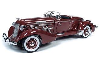 1:18 1935 Auburn Speedster (Plum Burgundy)