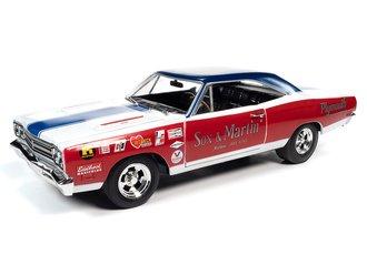 """Sox & Martin 1969 Plymouth RR """"LOTQM"""" (Red/White/Blue)"""