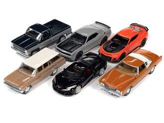 1:64 Auto World Premium - Release 2021 2A (Set of 6)