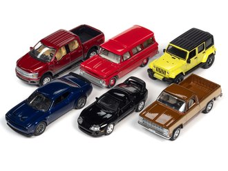 1:64 Auto World Premium - 2021 Release 3A (Set of 6)