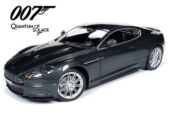 James Bond 007 Quantum of Solace Aston Martin DBS (Dark Grey Metallic)