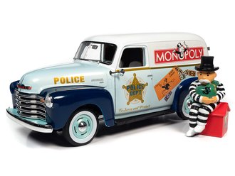 """1948 Chevrolet Panel Delivery """"Monopoly"""" w/Resin Figure"""
