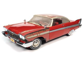 Christine 1958 Plymouth Fury (Partially Restored) (Red - Dirty)