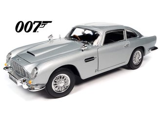 "James Bond 1965 Aston Martin DB5 Coupe ""No Time to Die"" (Silver Birch)"