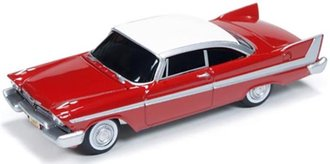 1:64 Christine® 1958 Plymouth (Red/White)