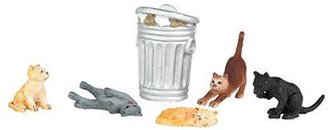 O Cats w/Garbage Can (6)