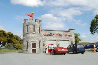 HO Castle Car Wash