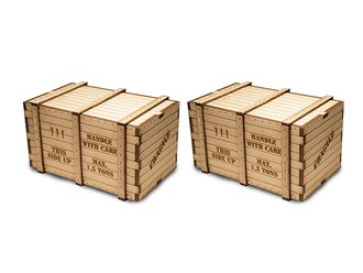 O Machinery Crates (Pack of 2)