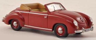 1951 VW Dannenhauer & Stauss Convertible (Dark Red)