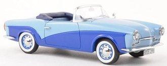 1957 Rometsch Lawrence Convertible (Light Blue/Medium Blue)