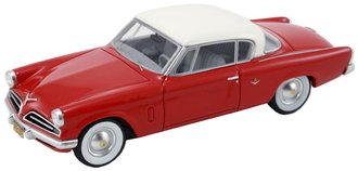 1953 Studebaker Commander Starliner (Red)