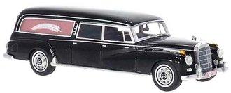 1960 Mercedes 300D (W189) Pollmann Funeral Hearse (Black)