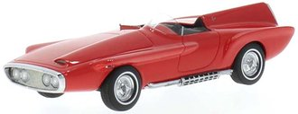 1:43 1960 Plymouth XNR Concept Car (Red)
