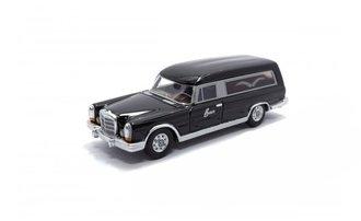 1969 Mercedes 600 Pollmann Hearse (Black)