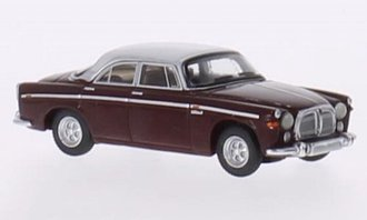 1967 Rover P5B Coupe (Dark Red/Light Gray)