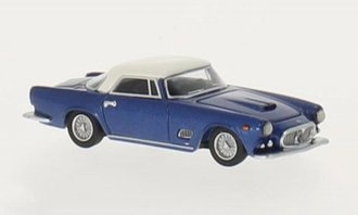 1957 Maserati 3500 GT (Blue Metallic/White)