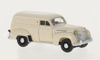 1951 Opel Olympia Box Wagon (Beige)