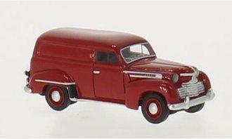 1951 Opel Olympia Box Wagon (Dark Red)