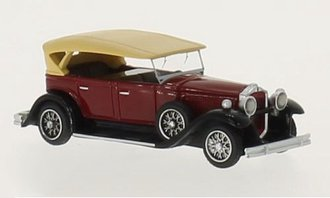 1930 Packard 733 Straight 8 Sport Phaeton (Dark Red/Black)