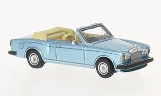 1974 Rolls-Royce Corniche Convertible (Light Blue Metallic)