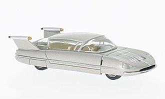1955 Borgward Traumwagen (Silver)
