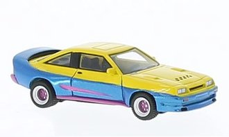 1991 Opel Manta B Mattig (Yellow/Blue)