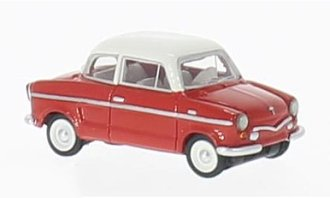 1:87 1960 NSU Prinz III (Red/White)