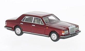 1:87 1980 Rolls-Royce Silver Spirit Mark I (Dark Red Metallic)