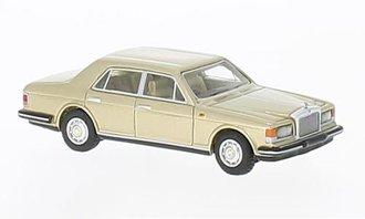 1:87 1980 Rolls-Royce Silver Spirit Mark I (Light Beige Metallic)